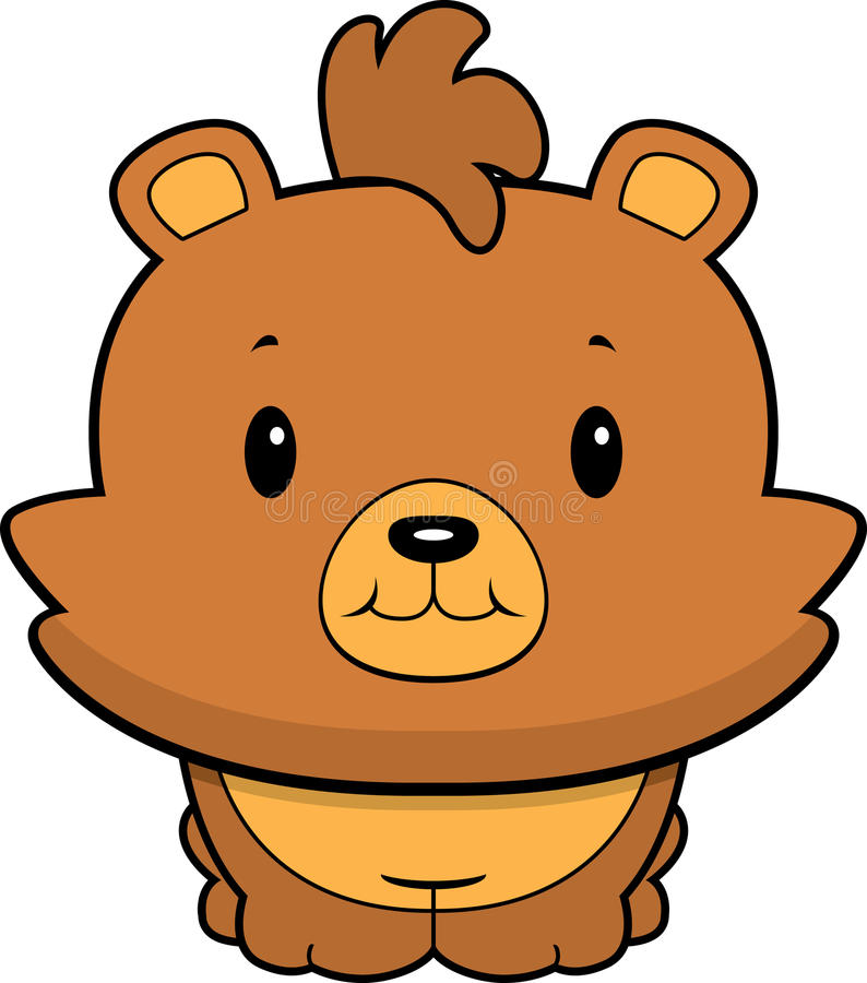 Download Baby Bear Cub stock vector. Illustration of illustration - 10220099