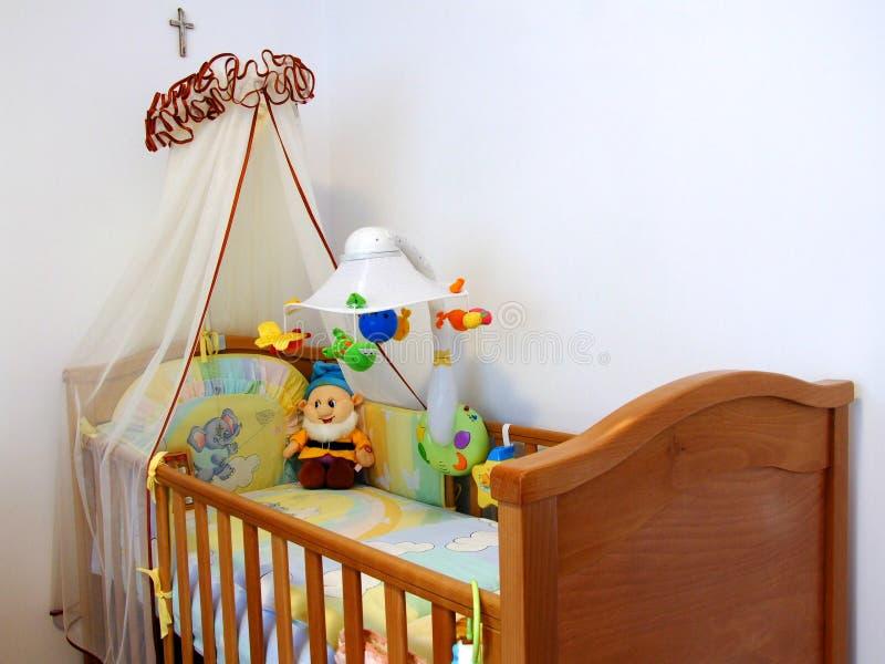 Download Baby bedroom stock photo. Image of mattress, baby, light - 1738080