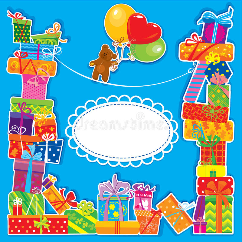 Baby birthday card for boy stock vector illustration of download baby birthday card for boy stock vector illustration of background 26978397 bookmarktalkfo Gallery