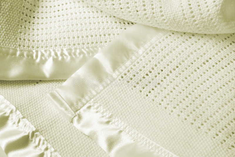 Baby Blanket Stock Image
