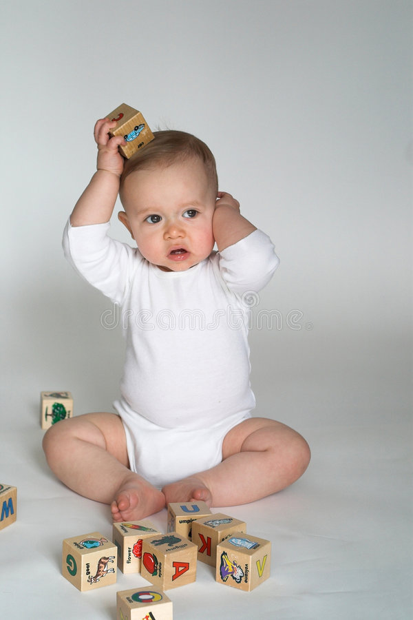 Download Baby Blocks stock photo. Image of playing, pure, learning - 2311696
