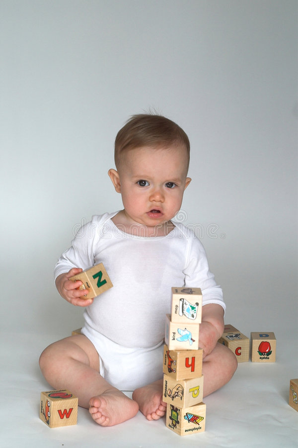 Download Baby Blocks stock photo. Image of infant, building, fresh - 2460606