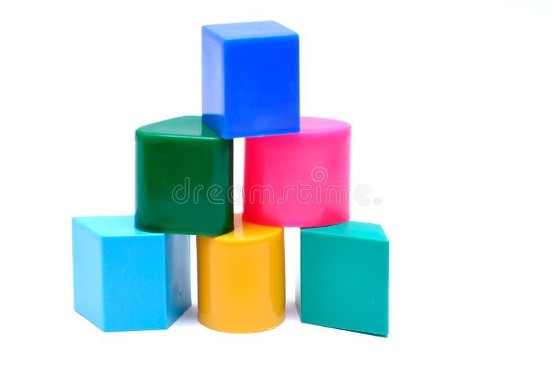 Baby Blocks Construction stock image
