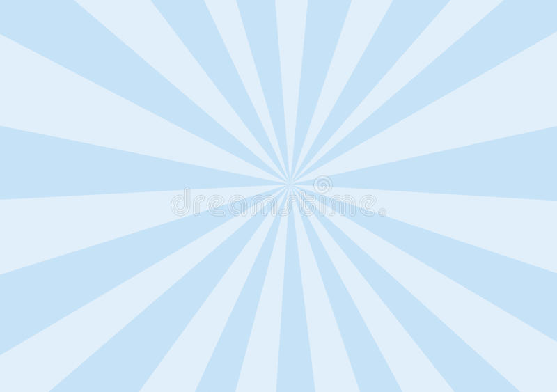 Baby Blue Rays vector illustration