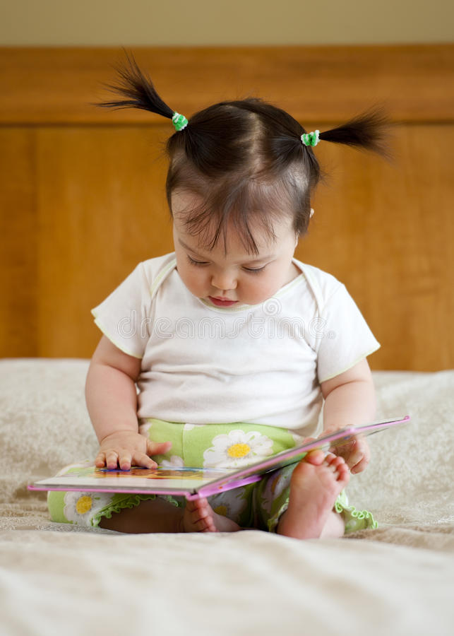Download Baby With Book Stock Images - Image: 19647934