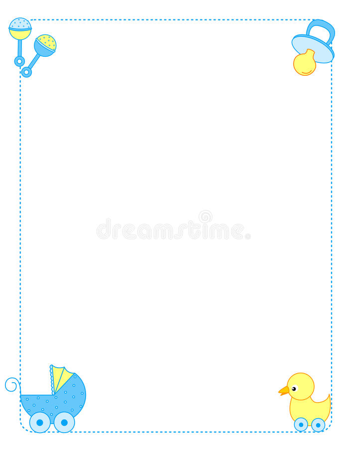 Download Baby Border Boy Royalty Free Stock Photography - Image: 14569727