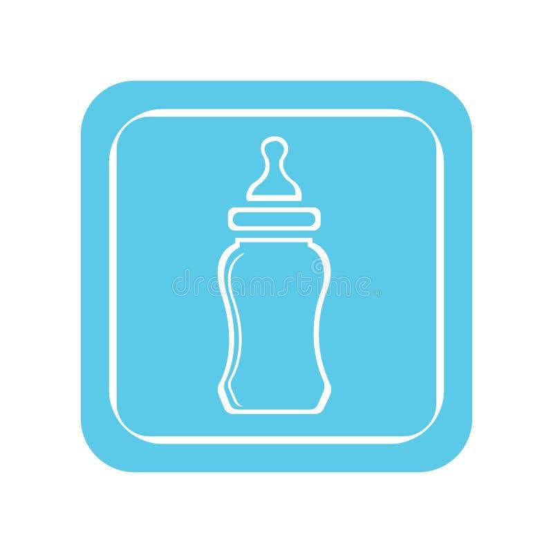 baby bottle stock illustration