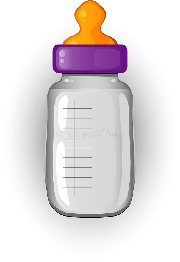Download Baby Bottle Of Milk Stock Image - Image: 17501071