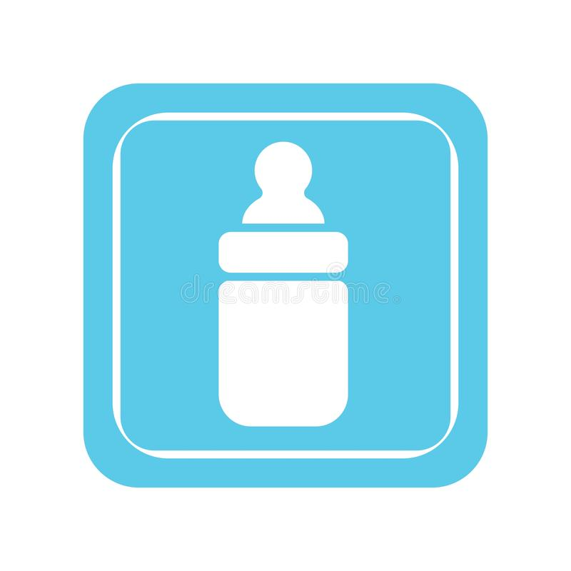 baby bottle stock illustration