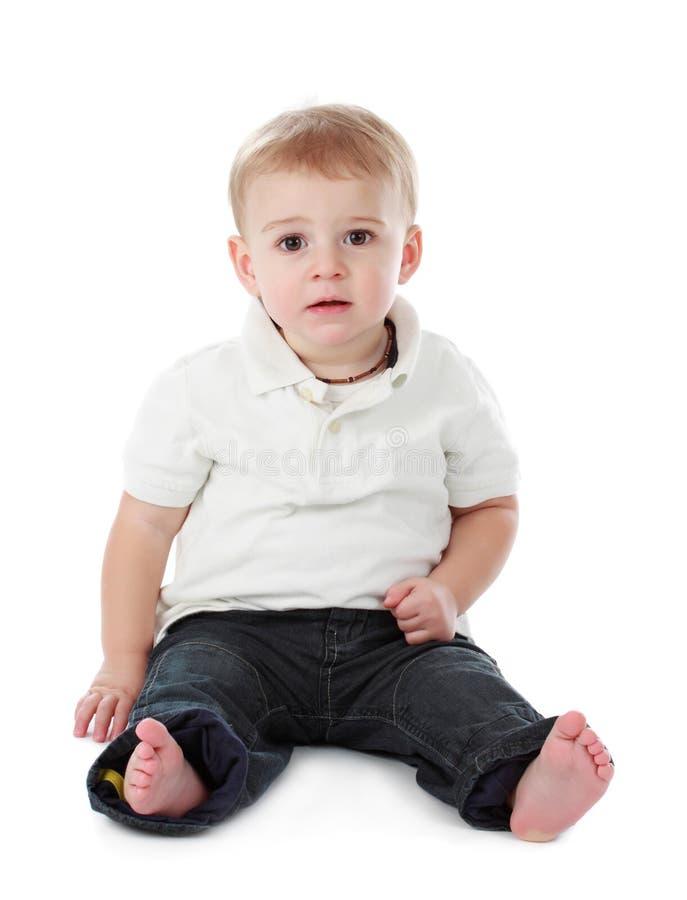 Baby Boy Holding An Orange Stock Photo Image Of Fresh