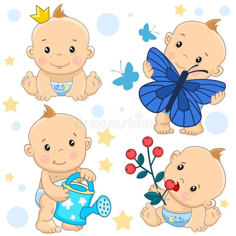 Free Baby Boy 16 Part. Royalty Free Stock Photos - 137823388