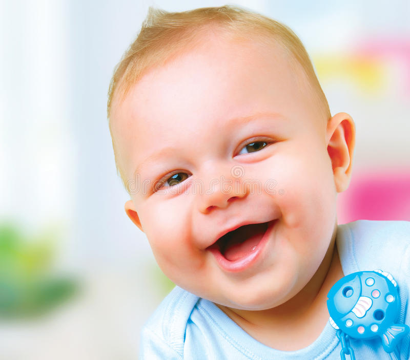 Download Baby Boy stock image. Image of little, look, jolly, infant - 21764709