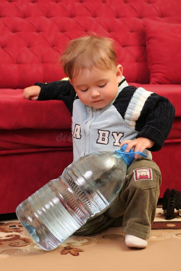 Download Baby boy stock photo. Image of single, nappy, wonder, milk - 2402612