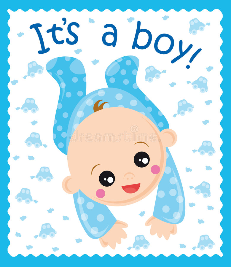 baby boy vector illustration