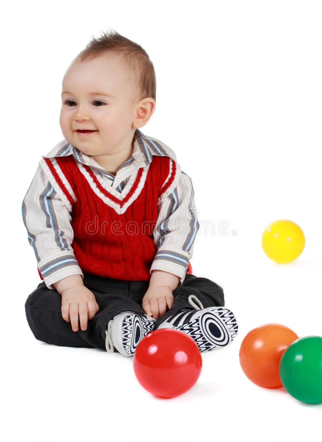 Download Baby Boy (8 Months) Stock Images - Image: 9360804