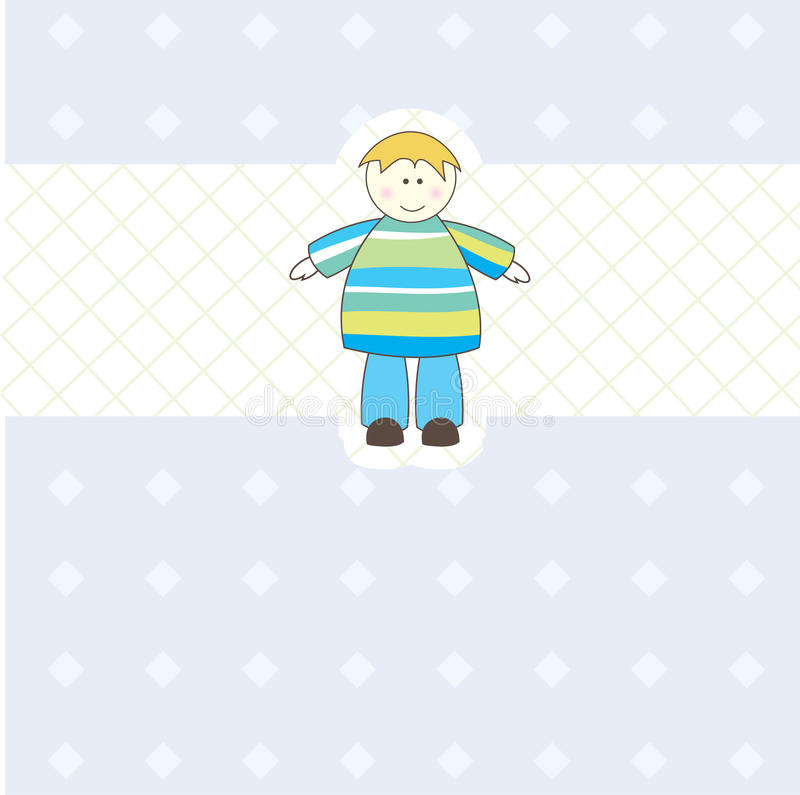 Download Baby Boy Arrival Announcement Card For You Stock Photos - Image: 16117023