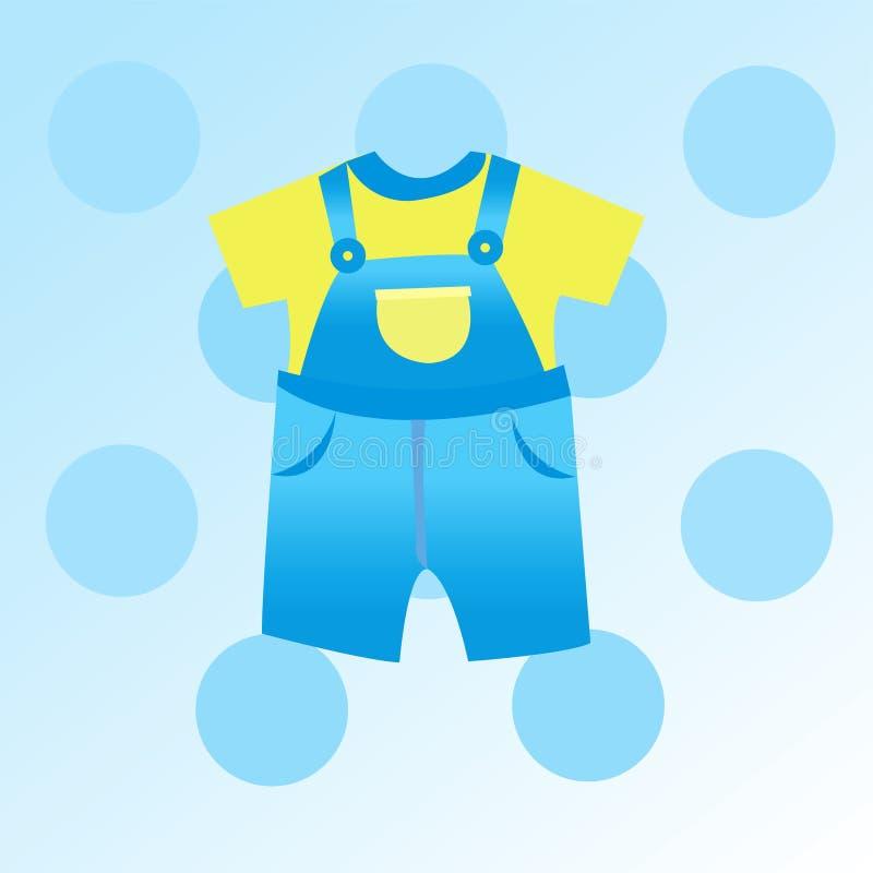 Baby boy card stock illustration