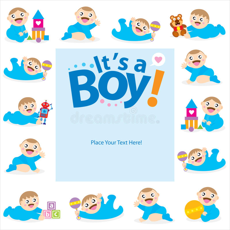 Baby boy greeting card design stock vector illustration of download baby boy greeting card design stock vector illustration of celebrate background 40788667 m4hsunfo