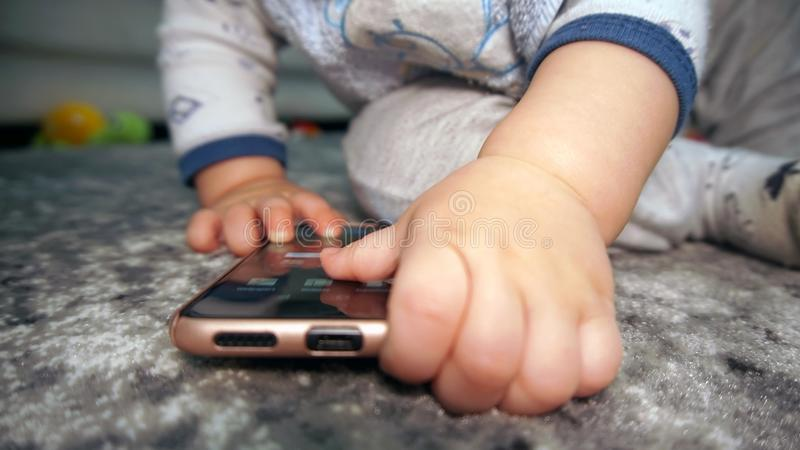 Download Baby boy hands stock photo. Image of smart, white, baby - 102712594