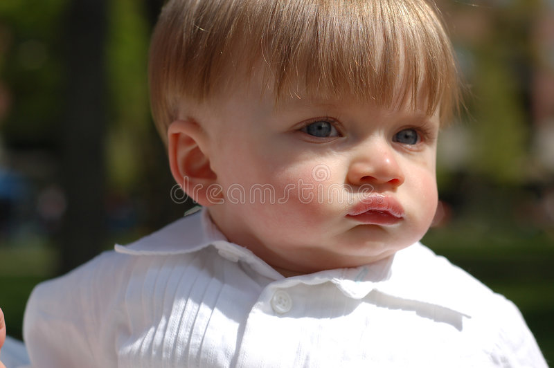 Baby Boy - Horizontal royalty free stock photo
