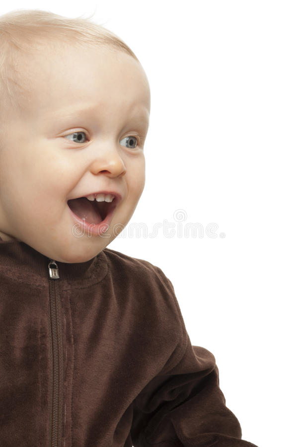 Baby boy isolated stock photography