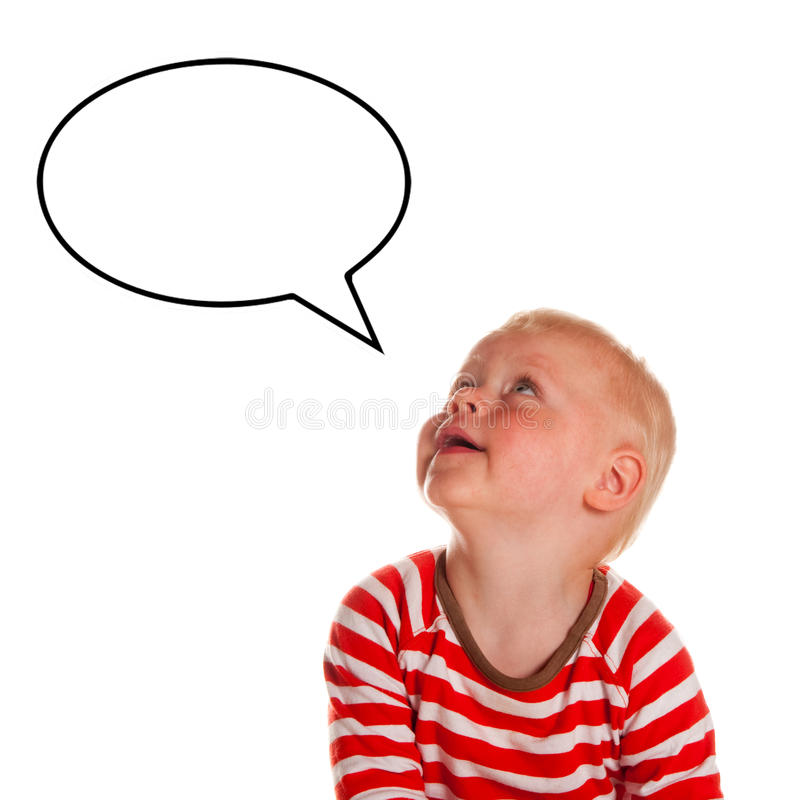 Download Baby boy is looking up stock photo. Image of baby, text - 15102646