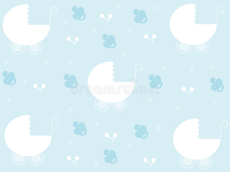 Baby boy pattern royalty free stock images