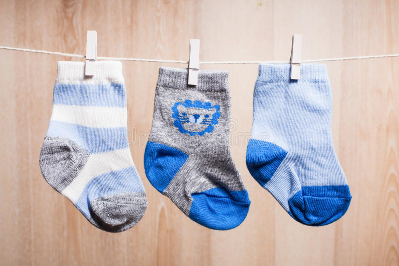 Baby Boy Socks Stock Image Image Of Little First Rope 36413421