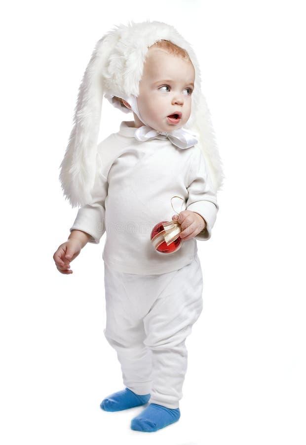 Baby Boy In The Speck Fancy Dress Stockbillede - Billede-6307