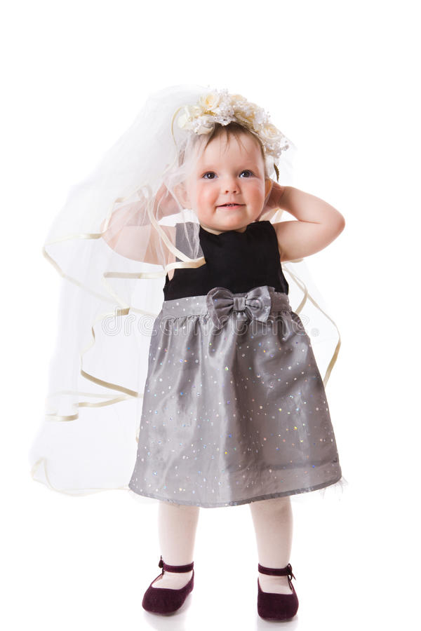Baby Bride royalty free stock image
