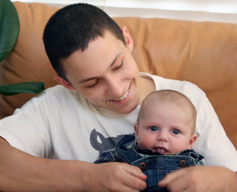 Baby brother royalty free stock photos