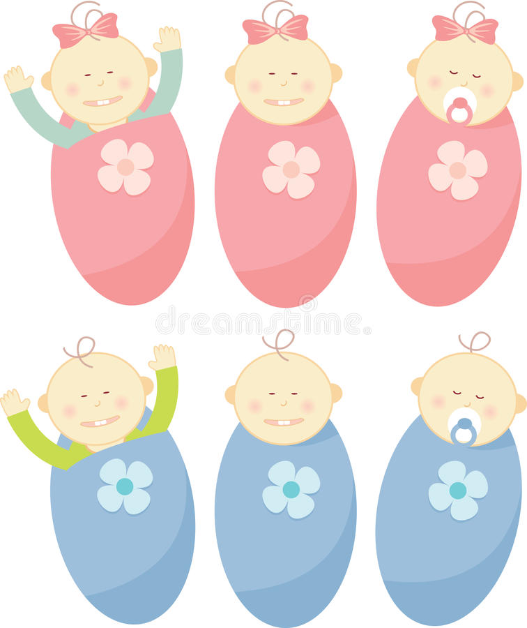 Download Baby Buggy stock vector. Illustration of girls, child - 9857041