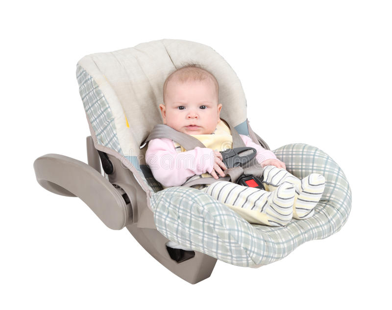 Download Baby In Car Seat Stock Photos - Image: 17801083