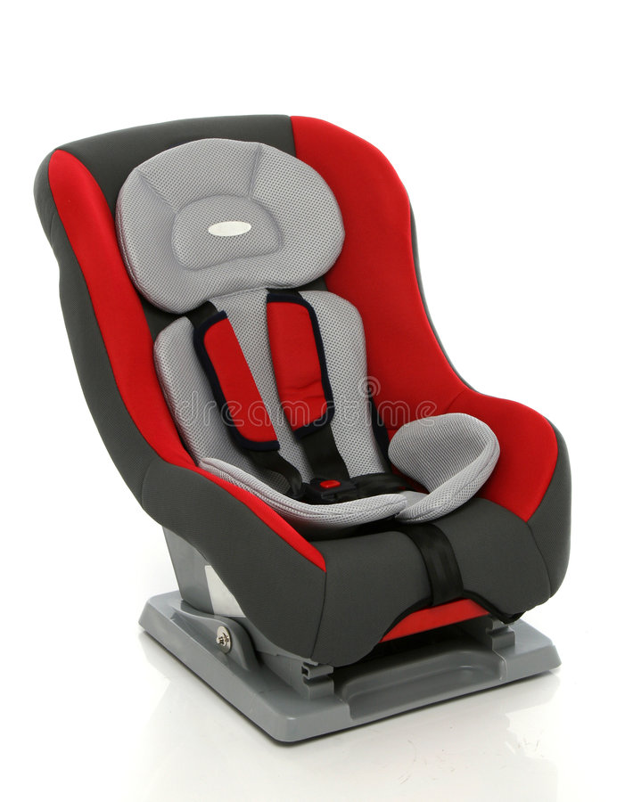 Baby car seat. From my objects series royalty free stock photography