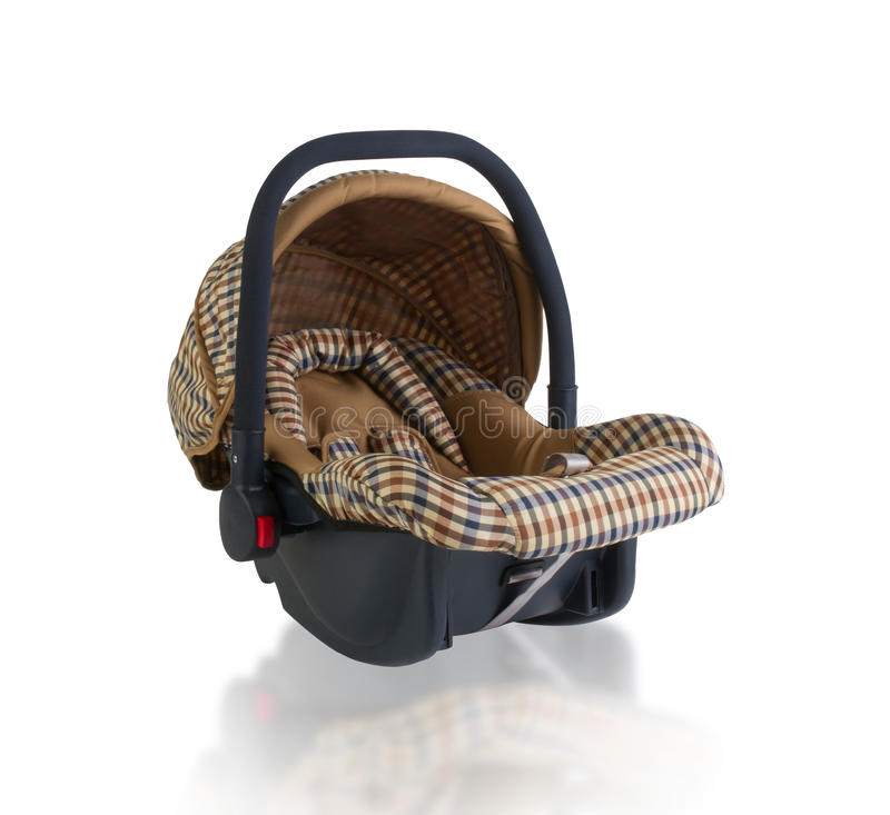 Baby car seat royalty free stock photos