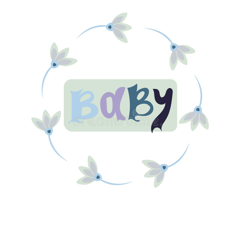 Download Baby Card Or Cover. Collection Of Vector Templates For  Scrapbooking, Congratulations, Baby