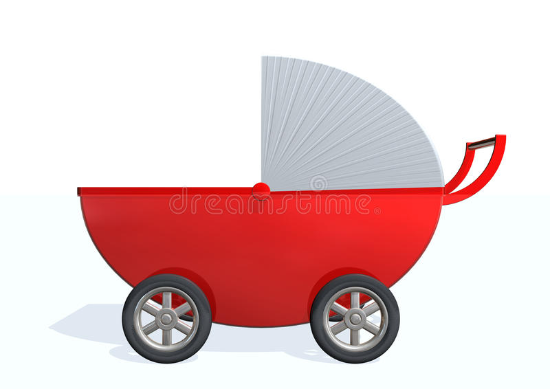 Download Baby Carriage Stock Photography - Image: 12017292