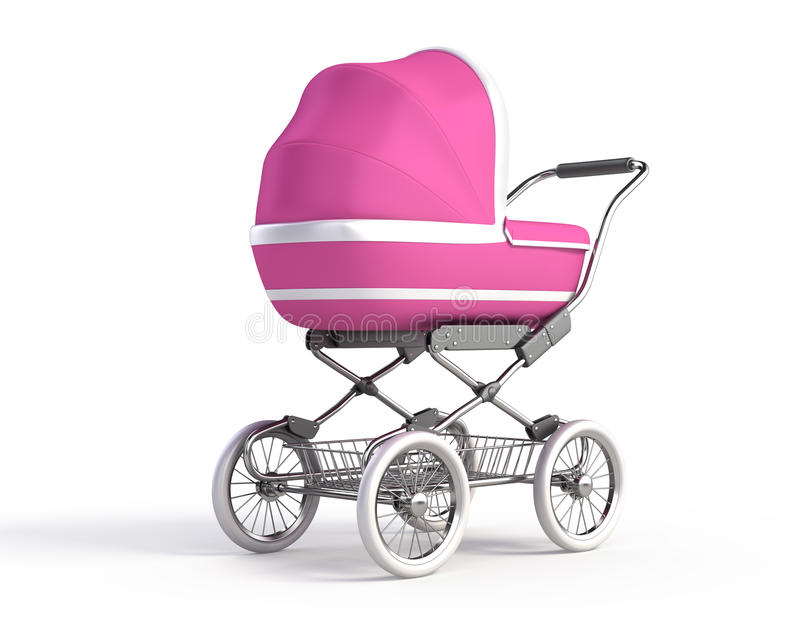 Download Baby Carriage stock illustration. Illustration of little - 18449156