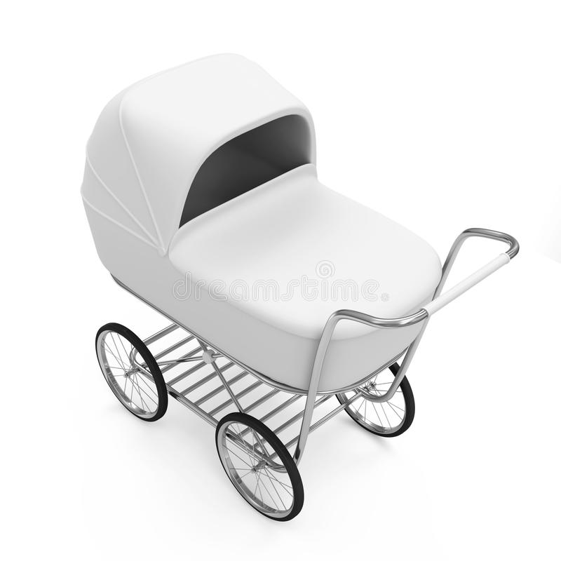 Download Baby Carriage stock illustration. Image of infantile - 27915315