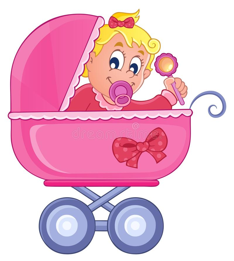 Download Baby Carriage Theme Image 4 Stock Vector - Image: 29044513
