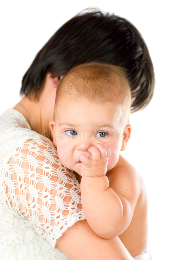 Free Baby Chewing Finger Royalty Free Stock Photography - 5542477