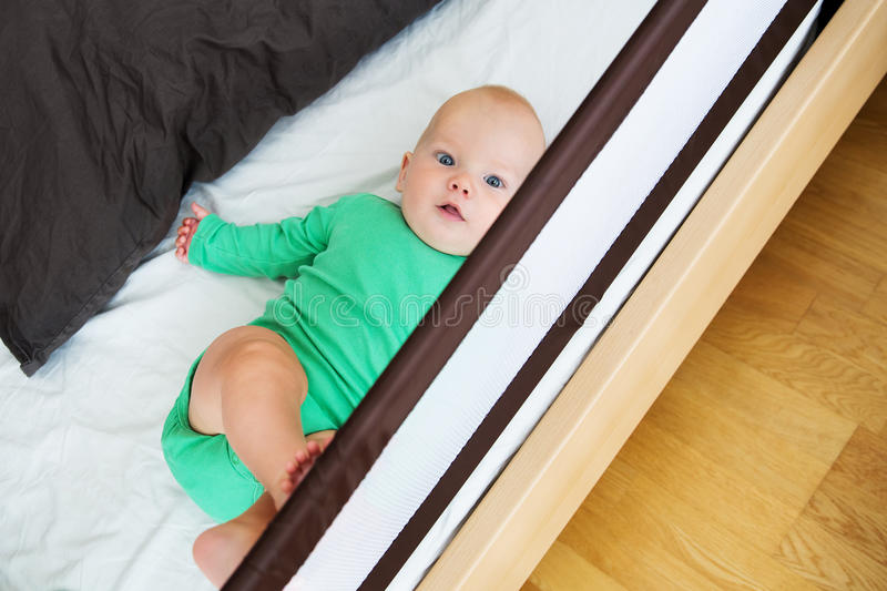 Baby child safety royalty free stock photography
