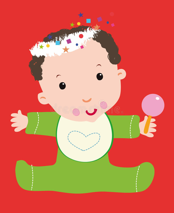 Download Baby Christmas stock illustration. Illustration of bell - 11149939