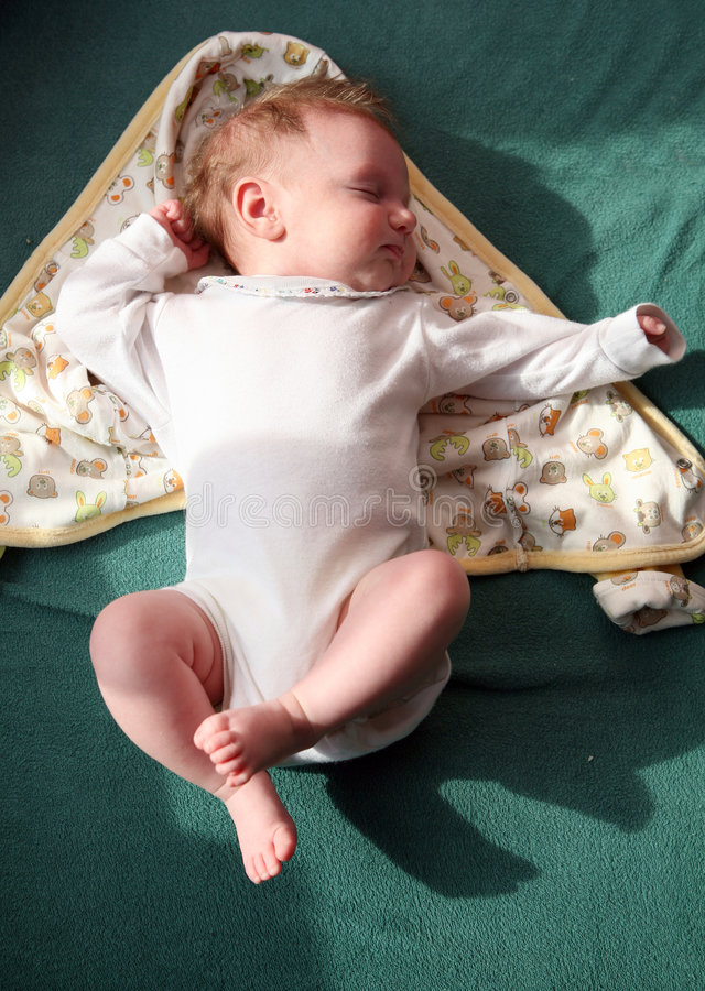 Baby clothing royalty free stock image