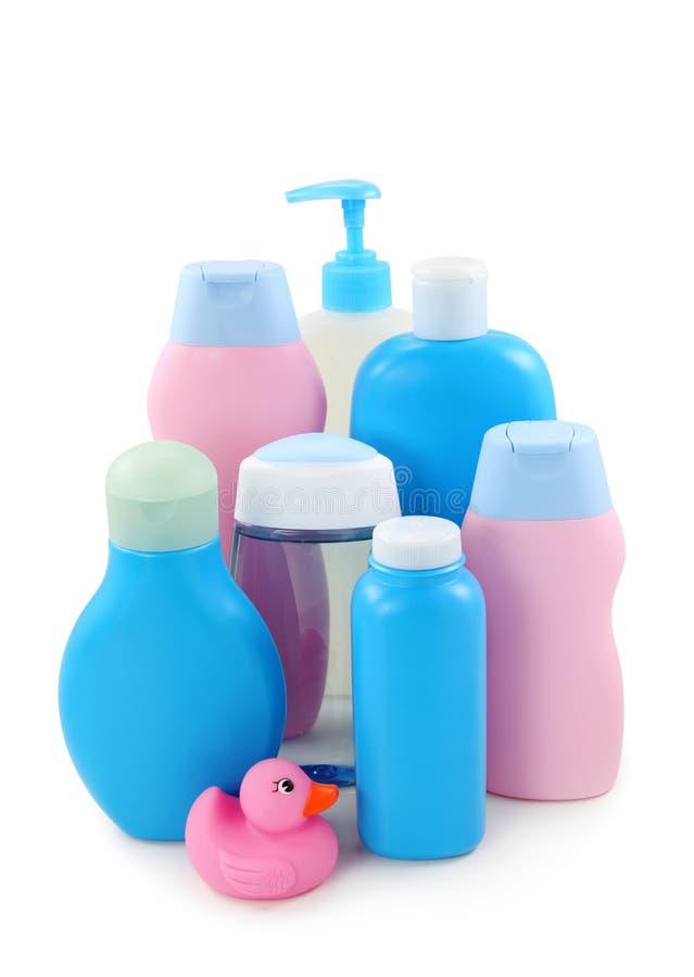 Baby cosmetics royalty free stock image