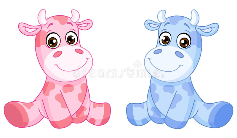Download Baby Cows Stock Photos - Image: 19390443