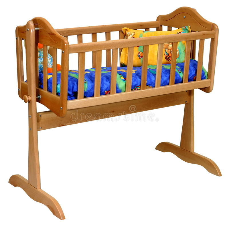 Download Baby cradle stock photo. Image of background, children - 9399258