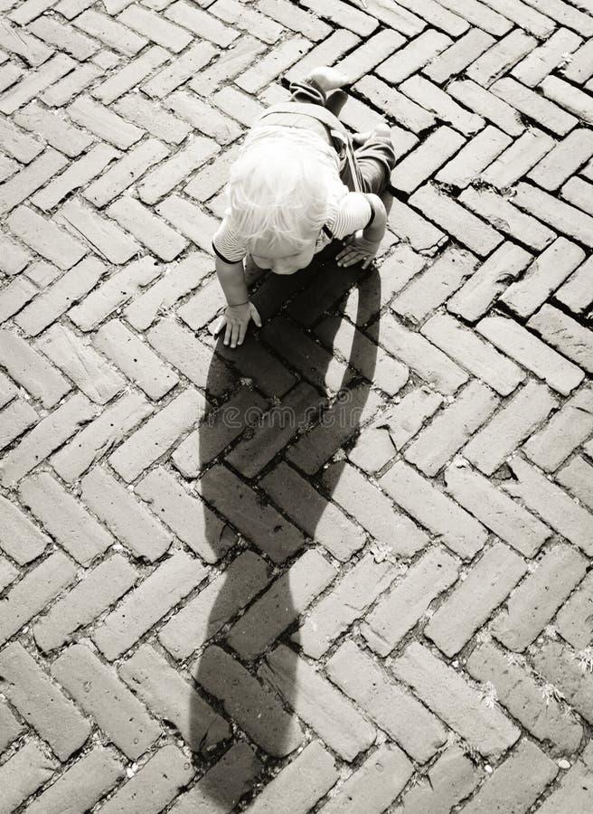 Baby Crawling On Brown Bricks During Daytime Free Public Domain Cc0 Image