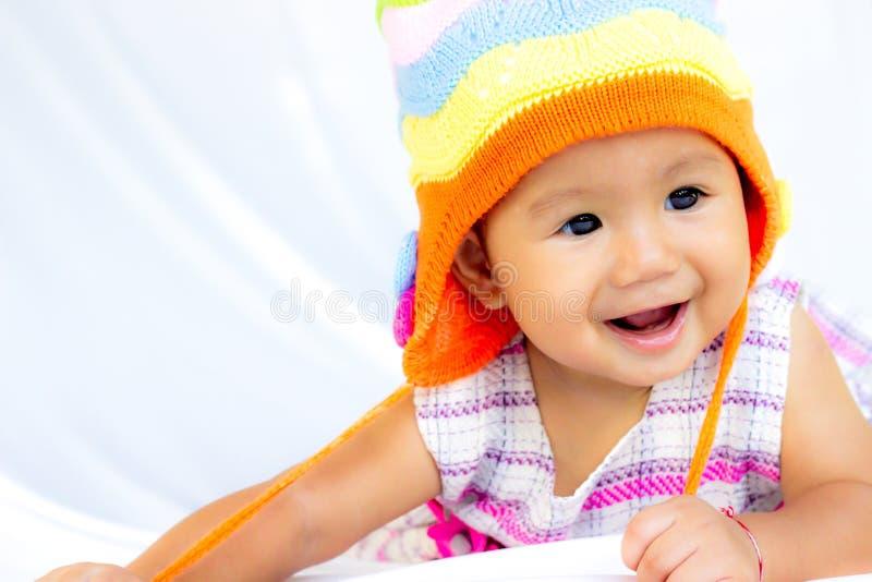 Baby Cute Baby Girl Portrait stock photos