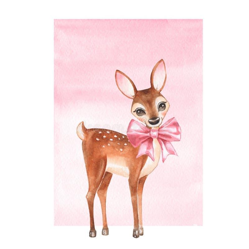 Baby Deer stock illustration